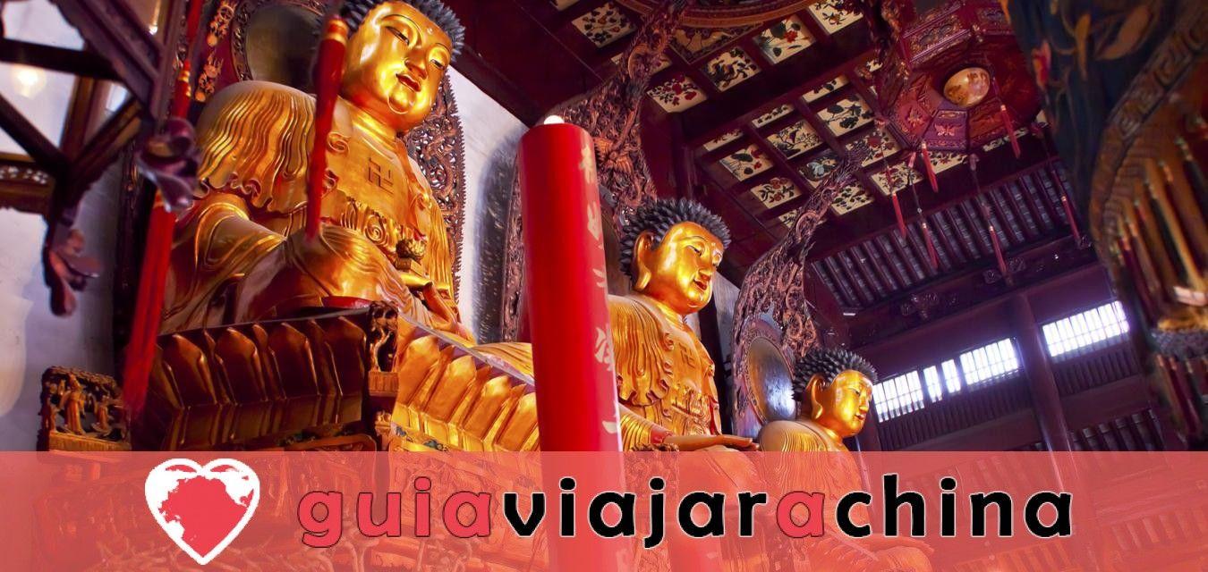 Esta es la visita del templo del Buda de Jade.