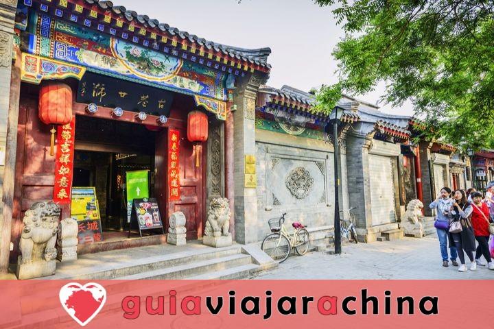 Estos son los barrios tradicionales'Hutong' de la ciudad antigua. 3
