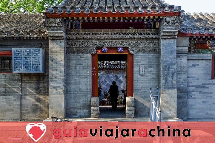 Estos son los barrios tradicionales'Hutong' de la ciudad antigua. 2