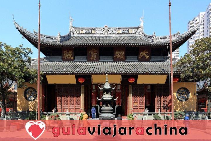 Esta es la visita del templo del Buda de Jade. 1