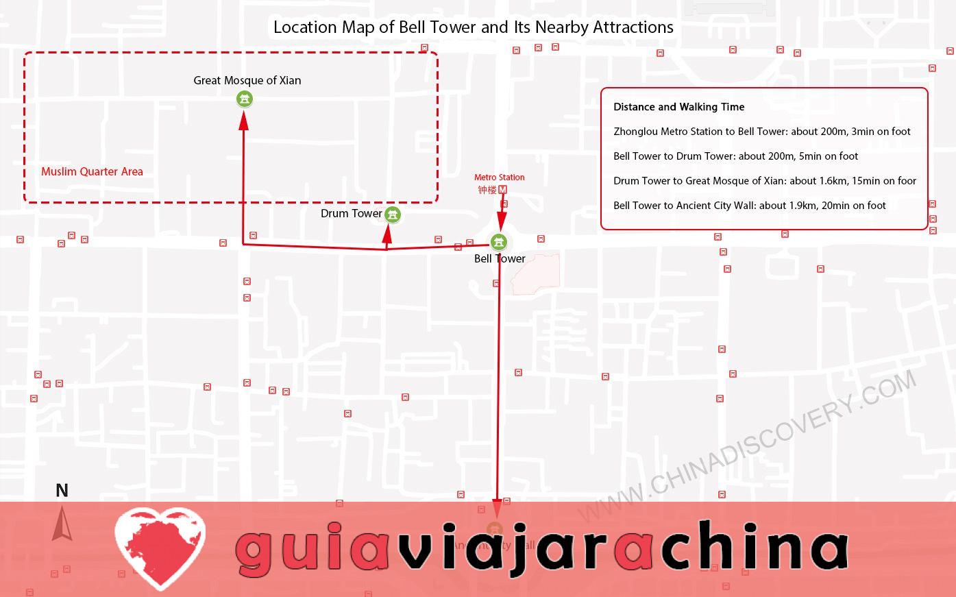 Campanario de Xian - Sitio icónico de la antigua capital Xian 8