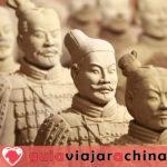 Guerreros y caballos de terracota - Museo de Sitio del Mausoleo del Emperador Qinshihuang