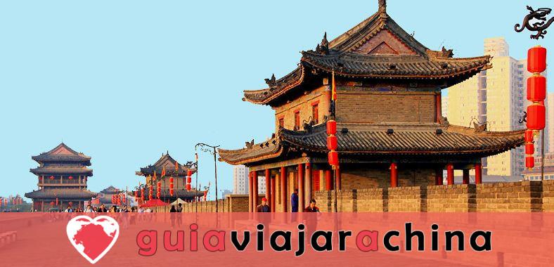 Muralla de la Ciudad Antigua de Xian (Cheng Qiang) - Muralla mejor conservada de China 1