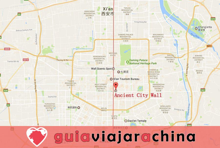 Muralla de la Ciudad Antigua de Xian (Cheng Qiang) - Muralla mejor conservada de China 8