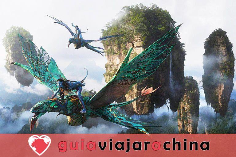 """Yuanjiajie - Busca el prototipo de """"Montañas del Aleluya del Avatar"""" 2"""