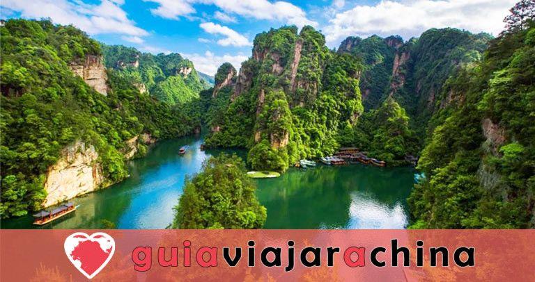 Lago Baofeng - el sueño del país de las hadas del lago Jasper 1