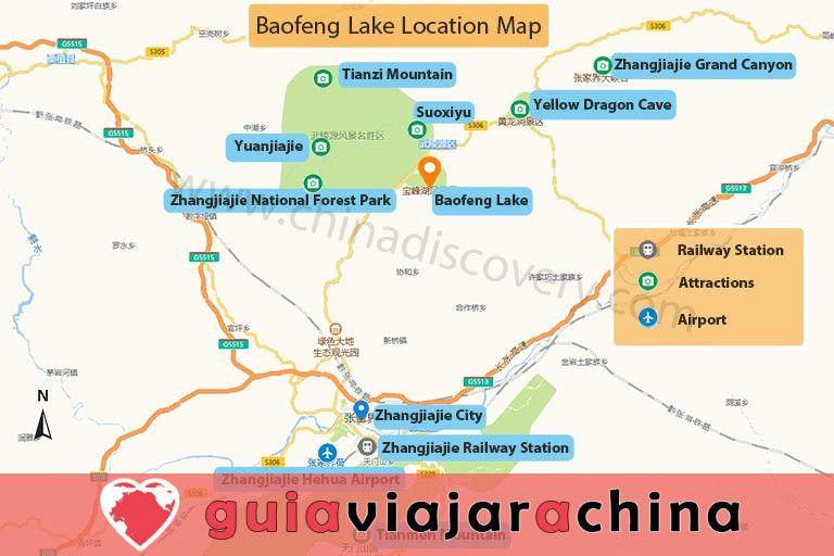 Lago Baofeng - el sueño del país de las hadas del lago Jasper 8