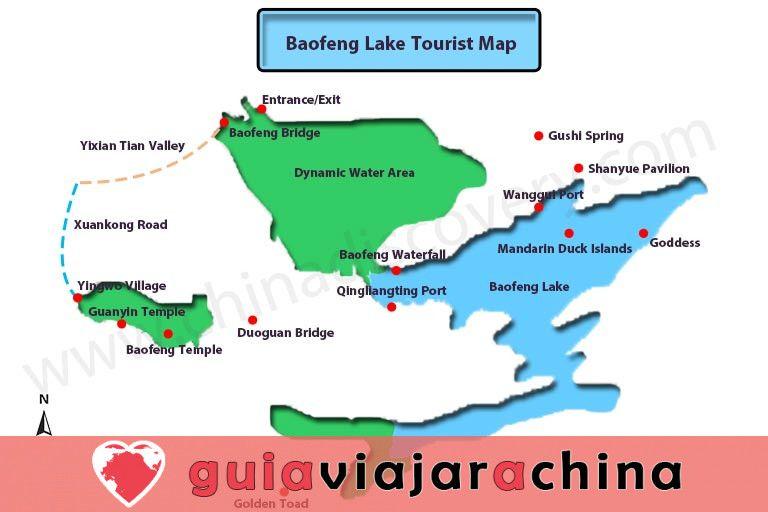 Lago Baofeng - el sueño del país de las hadas del lago Jasper 7