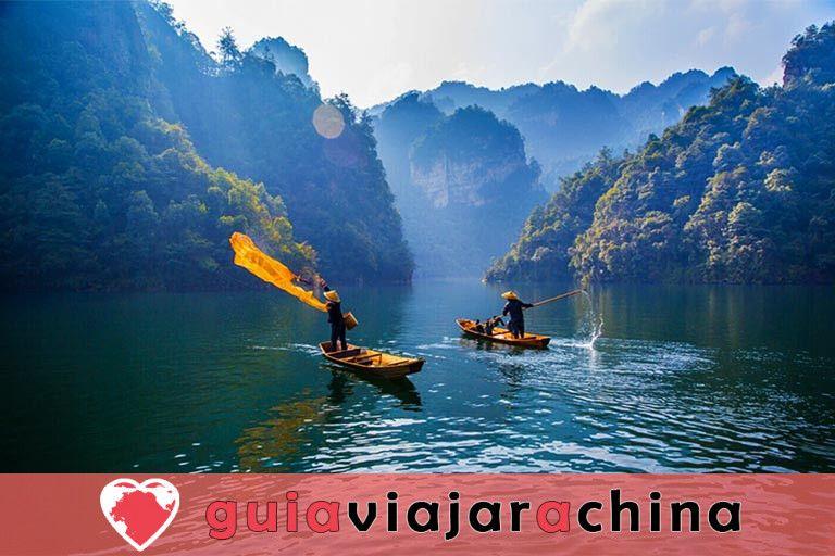 Lago Baofeng - el sueño del país de las hadas del lago Jasper 2
