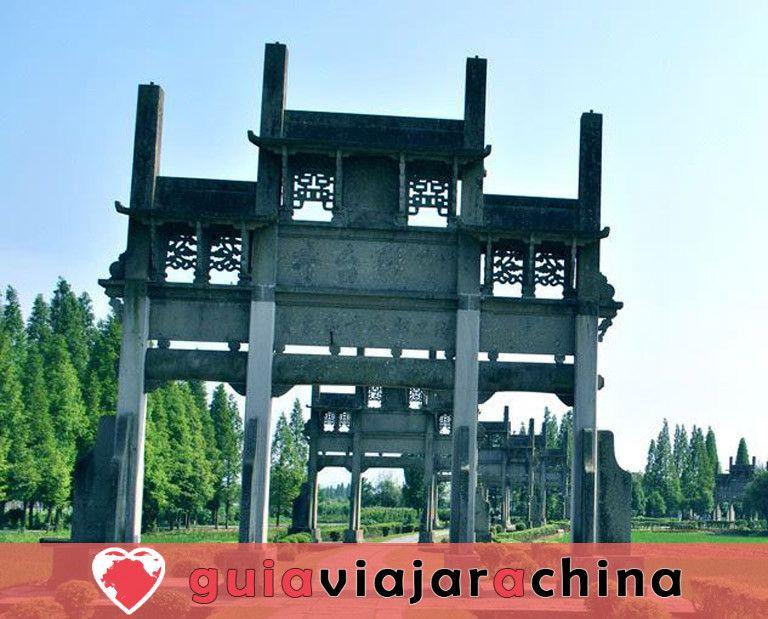 Arcos conmemorativos de Tangyue - El grupo de arcos más grande de China 8