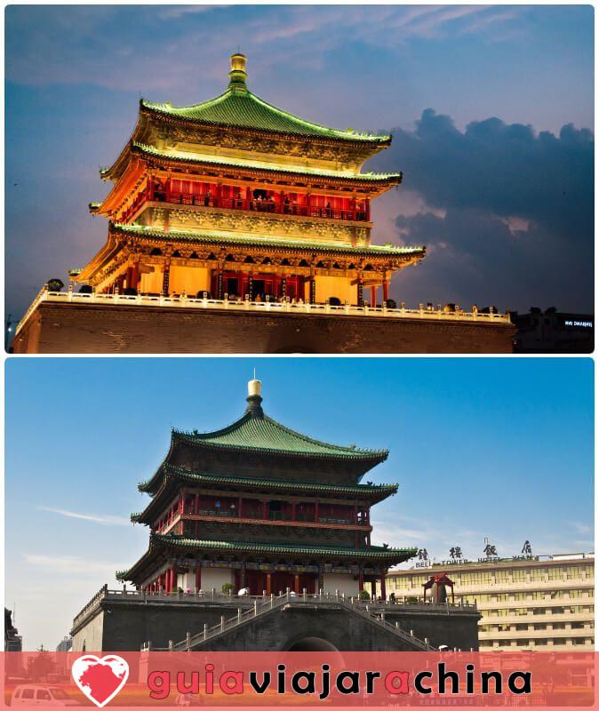 Campanario de Xian - Sitio icónico de la antigua capital Xian 2