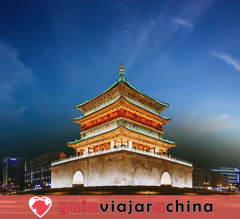 Torre de Tambor Xian - Edificio hermano de la Torre de Campana Xian 6