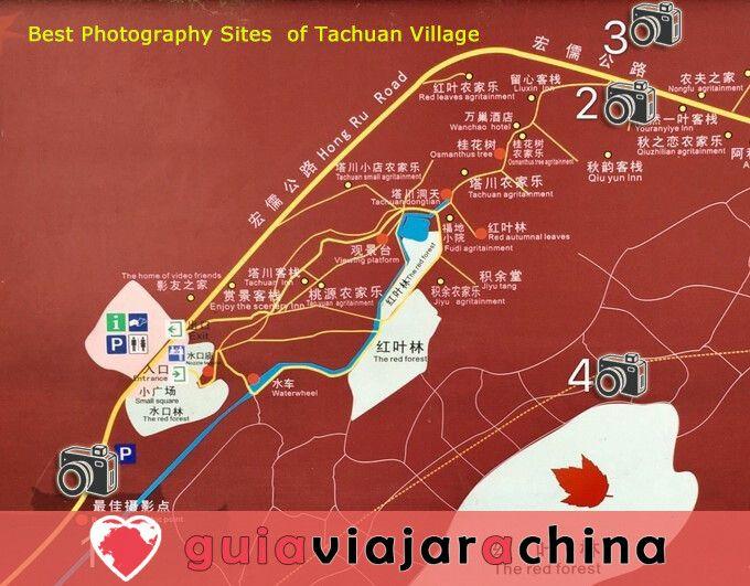 Pueblo Antiguo de Tachuan - El mejor escenario de otoño en China 3