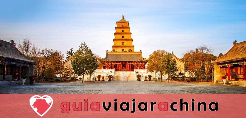 Pagoda del Ganso Silvestre Gigante - Patrimonio Cultural de la Humanidad en la Ruta de la Seda 1