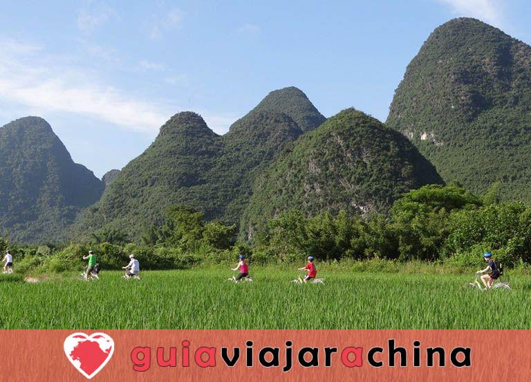 Yangshuo Biking Guide - Top Rutas y Mapas de Ciclismo, Alquiler de Bicicletas 2