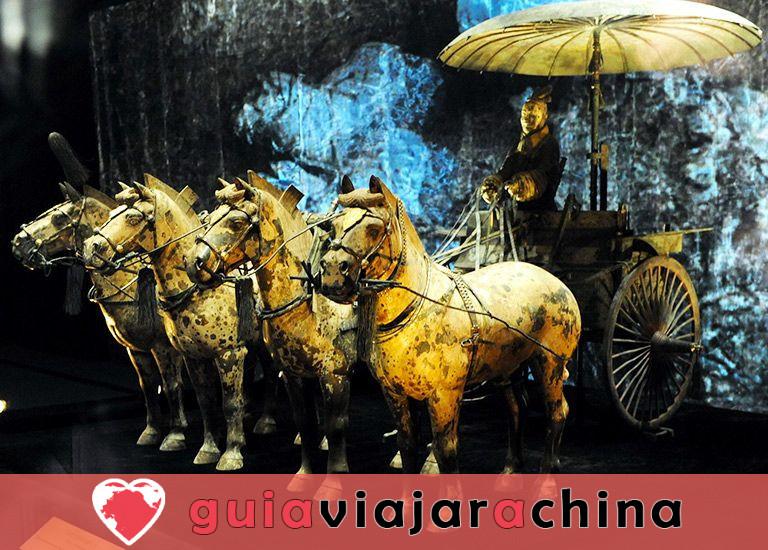 Guerreros y caballos de terracota - Museo de Sitio del Mausoleo del Emperador Qinshihuang 4