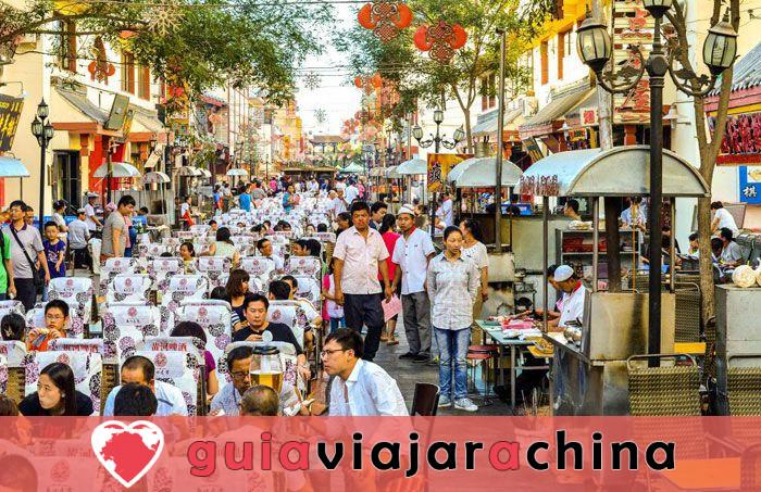 Mercado nocturno de Shazhou - Un bocado de Dunhuang 2