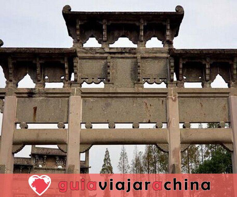 Arcos conmemorativos de Tangyue - El grupo de arcos más grande de China 3