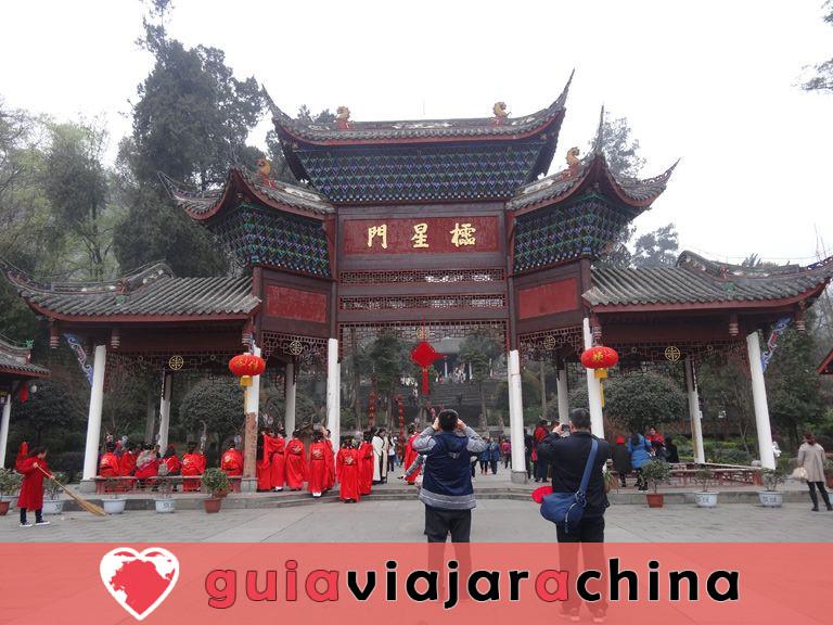 Templo de Dujiangyan Confucio 3