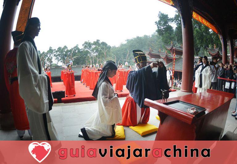 Templo de Dujiangyan Confucio 4