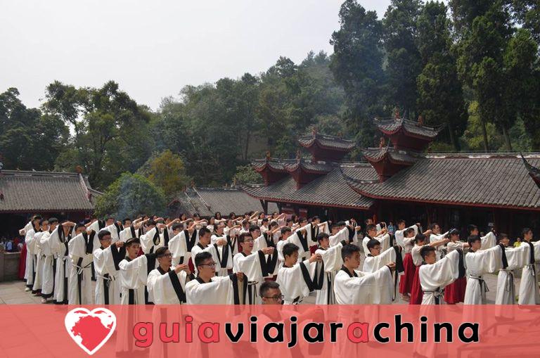 Templo de Dujiangyan Confucio 5