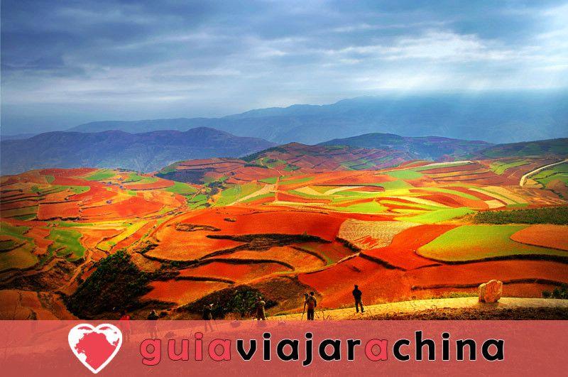Tierra Roja de Dongchuan - Paleta Mágica de Dios 3