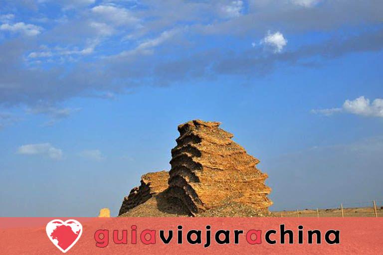 Gran Muralla de Dunhuang de la dinastía Han - Antigua salvaguardia del noroeste de China y la Ruta de la Seda 6