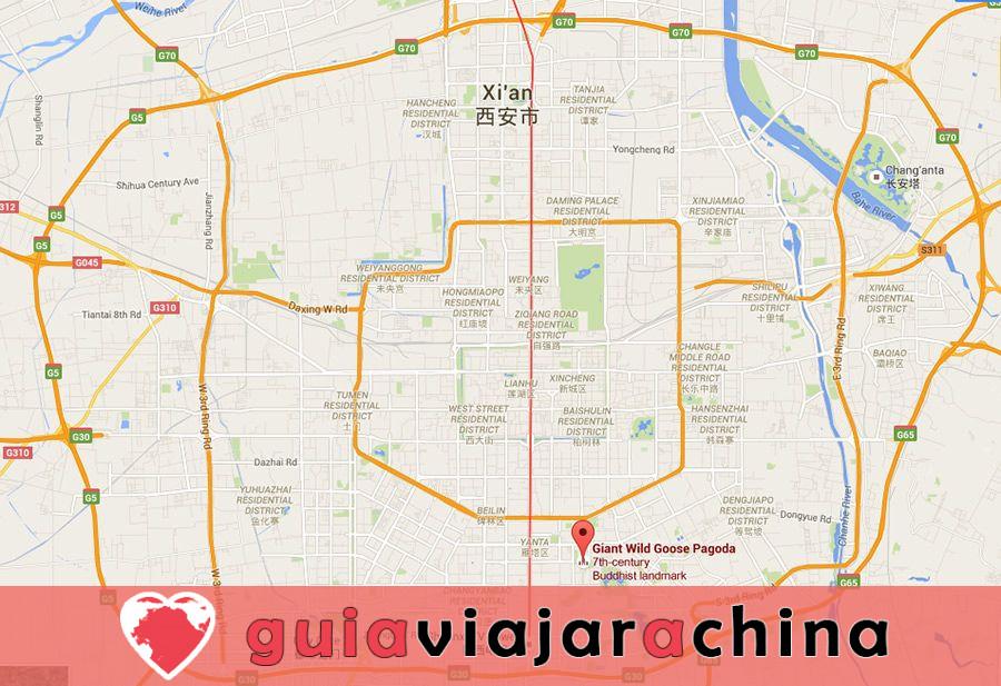 Pagoda del Ganso Silvestre Gigante - Patrimonio Cultural de la Humanidad en la Ruta de la Seda 11