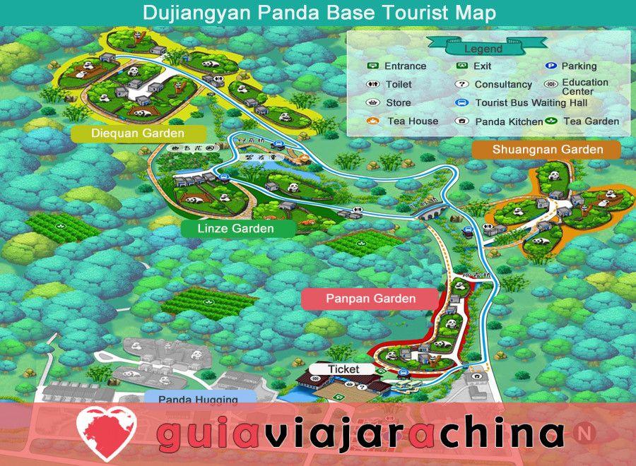 Base del Panda de Dujiangyan (Arca del Panda de Dujiangyan) 3