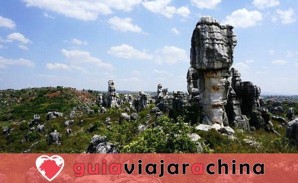 Bosque de Piedras de Kunming - primera maravilla del mundo 5