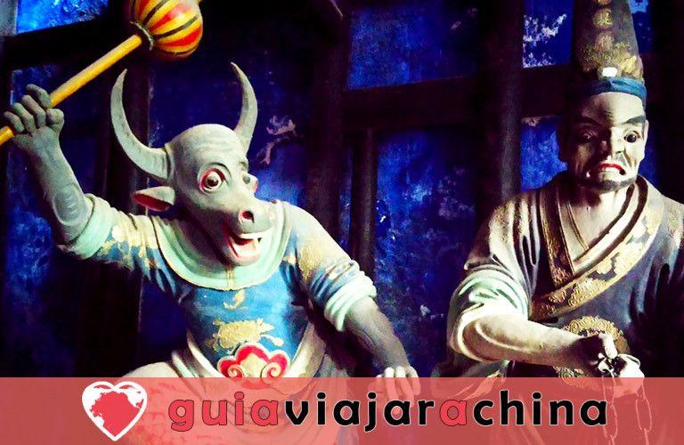 Ciudad Fantasma de Fengdu - Cultura del más allá en China 5