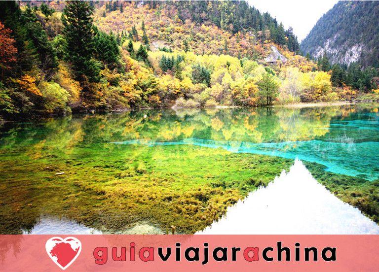 Valle del Jiuzhaigou - los más bellos paisajes acuáticos de China 5