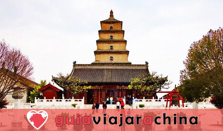 Pagoda del Ganso Silvestre Gigante - Patrimonio Cultural de la Humanidad en la Ruta de la Seda 3
