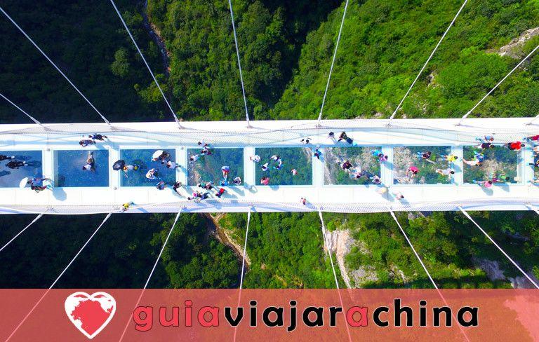 El Gran Cañón de Zhangjiajie - El puente de cristal más alto del mundo y el encantador país de las maravillas 2