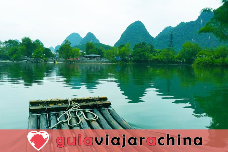 Bambú Rafting Yangshuo - Río Yulong y Río Li 2