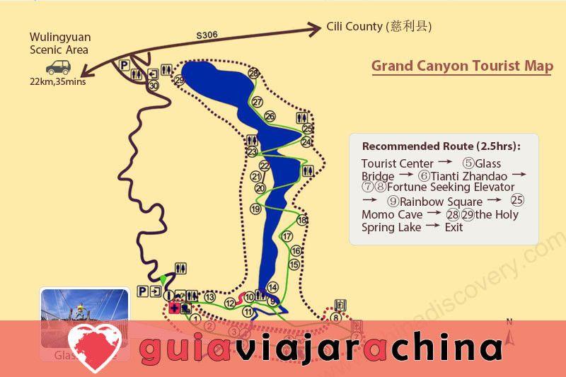 El Gran Cañón de Zhangjiajie - El puente de cristal más alto del mundo y el encantador país de las maravillas 6