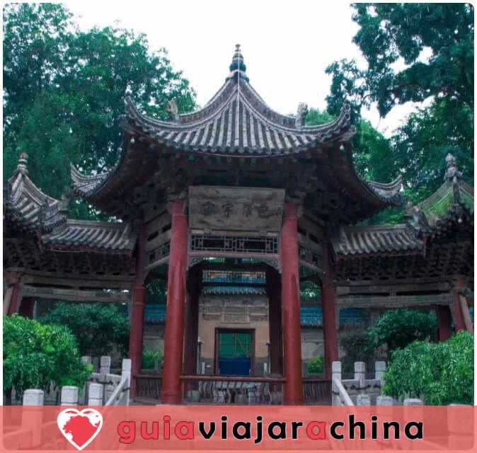 Torre de Tambor Xian - Edificio hermano de la Torre de Campana Xian 8
