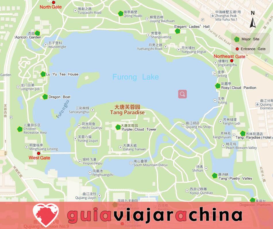 Tang Paradise - El mayor jardín imperial estilo Tang de China 2