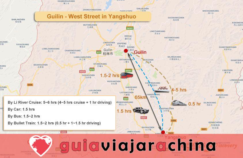 """West Street (Xijie) - Bienvenido a la """"Aldea Global"""" en Yangshuo, Guilin 7"""