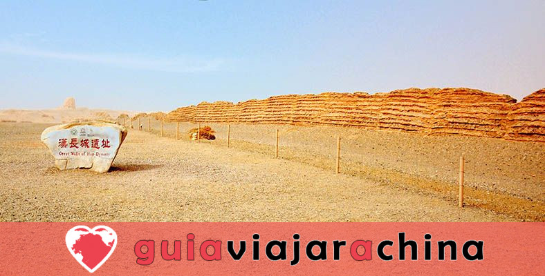 Gran Muralla de Dunhuang de la dinastía Han - Antigua salvaguardia del noroeste de China y la Ruta de la Seda 1