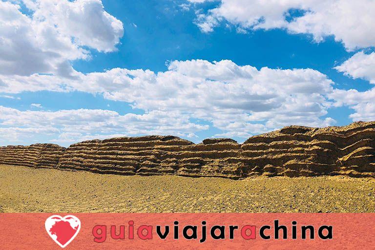 Gran Muralla de Dunhuang de la dinastía Han - Antigua salvaguardia del noroeste de China y la Ruta de la Seda 5