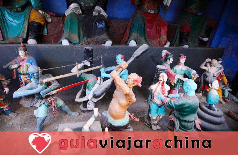 Ciudad Fantasma de Fengdu - Cultura del más allá en China 6