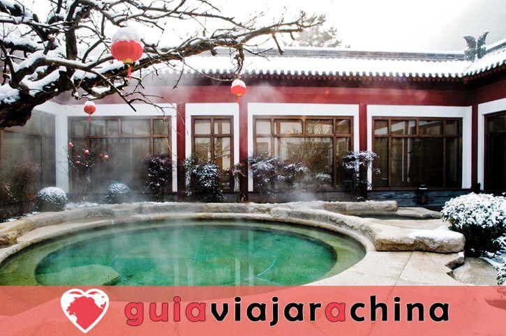 Piscina de Huaqing (Palacio de Huaqing) - Aguas termales y el canto del dolor eterno 8