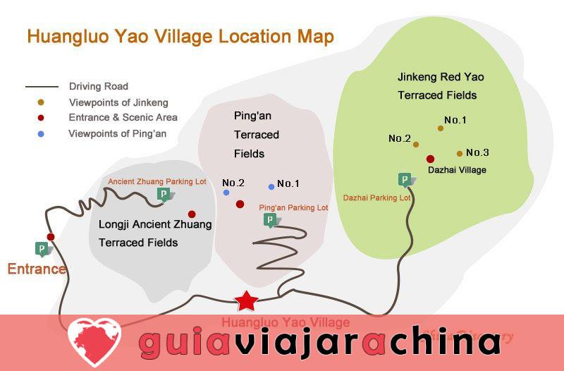 Pueblo Huangluo Yao - El pueblo de pelo largo del mundo de Guinness 4