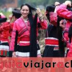 Pueblo Huangluo Yao - El pueblo de pelo largo del mundo de Guinness