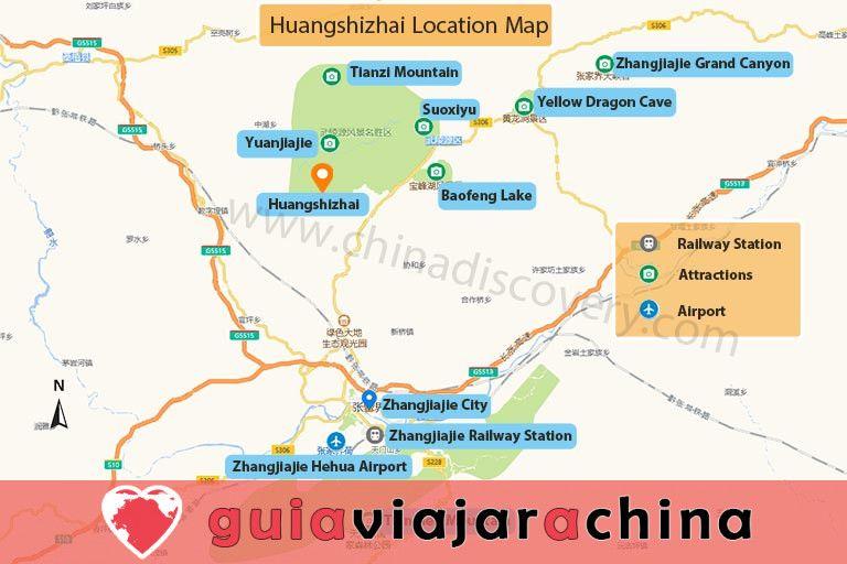 Huangshizhai (Pueblo de Huangshi) - El mirador más grande del Parque Forestal Nacional Zhangjiajie 8
