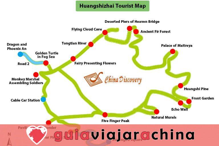 Huangshizhai (Pueblo de Huangshi) - El mirador más grande del Parque Forestal Nacional Zhangjiajie 5