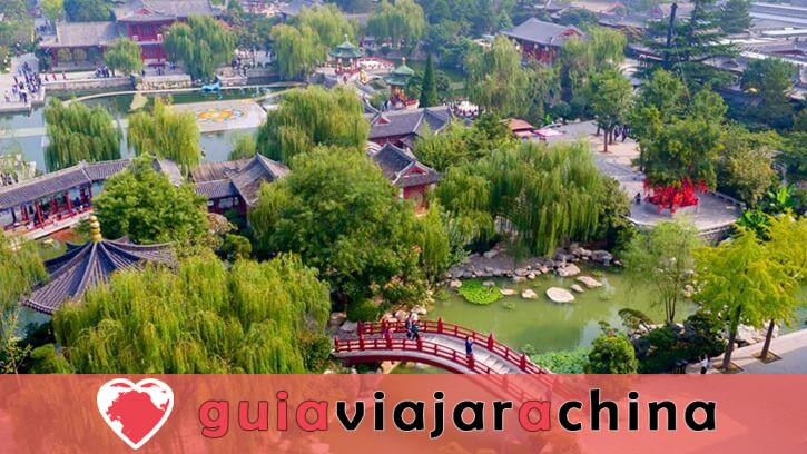 Piscina de Huaqing (Palacio de Huaqing) - Aguas termales y el canto del dolor eterno 6