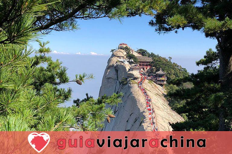 Monte Huashan - Desafía la ruta de senderismo más peligrosa del mundo 15