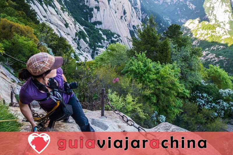 Monte Huashan - Desafía la ruta de senderismo más peligrosa del mundo 12